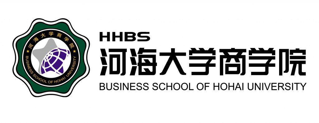 Hohai University Business School logo.