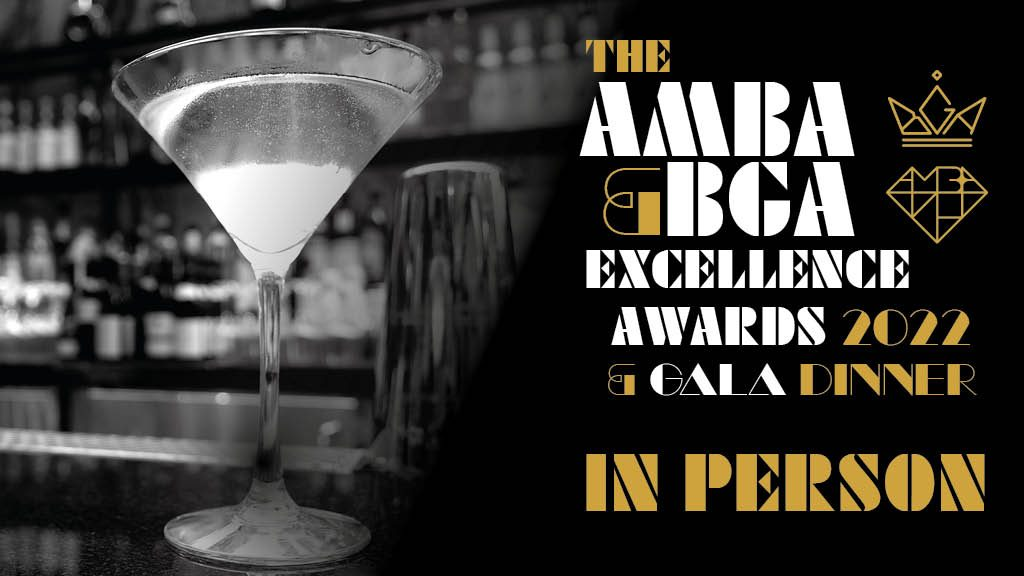 The AMBA & BGA Excellence Awards 2022 & Gala Dinner in person.